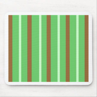 Field Green Stripes Mouse Pad