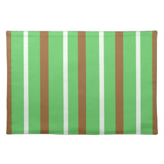 Field Green Stripes Placemat
