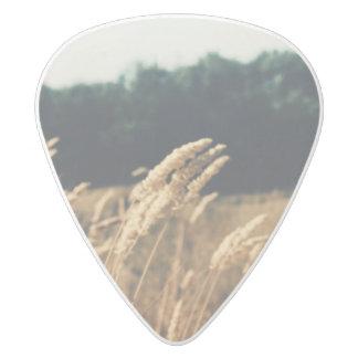 Field Guitar Pick White Delrin Guitar Pick