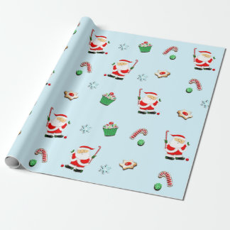 field hockey Christmas gift Wrapping Paper