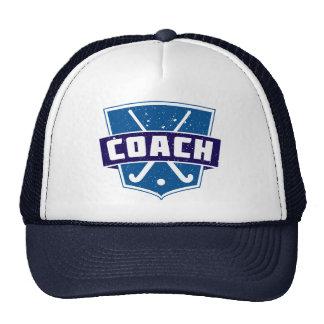 Field Hockey Coach Shield Trucker Hat