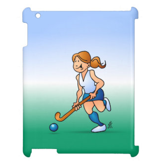Field  hockey girl cover for the iPad 2 3 4