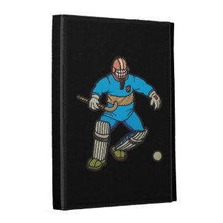 Field Hockey Goalie iPad Folio Cases