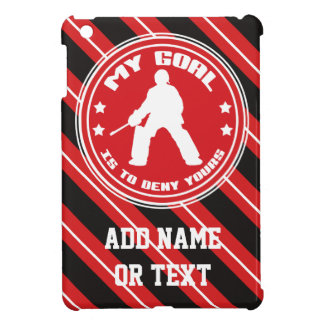 Field Hockey Goalie Quote iPad Cover