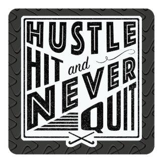 Field Hockey Hustle, Hit & Never Quit Invitations