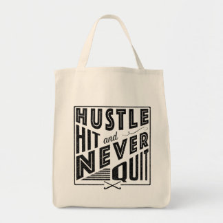 Field Hockey Hustle Hit & Never Tote Bag