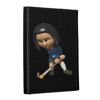 Field Hockey Player 3 iPad Cases