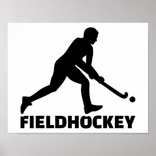 Field hockey poster