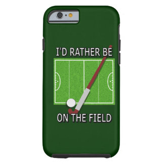 Field Hockey Vibe QPC iPhone 6 case Tough iPhone 6 Case
