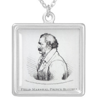 Field Marshal Prince Blucher of Wahlstadt Silver Plated Necklace