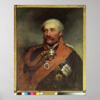 Field Marshal Prince Von Blucher  c.1816 Poster