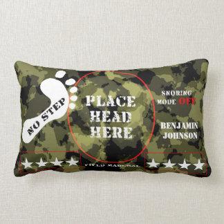 Field Marshall General Snoring OFF mode Lumbar Pillow