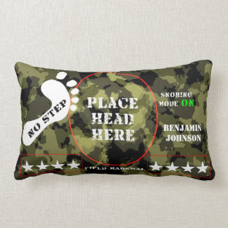 Field Marshall General Snoring ON mode Lumbar Pillow