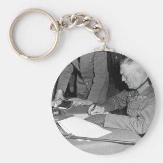 Field Marshall Wilhelm Keitel_War Image Basic Round Button Keychain