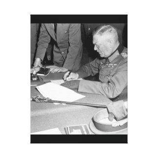Field Marshall Wilhelm Keitel_War Image Canvas Print