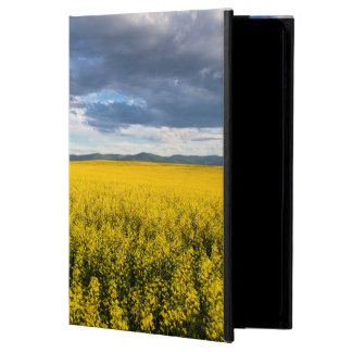Field Of Canola In Late Evening Light iPad Air Cases