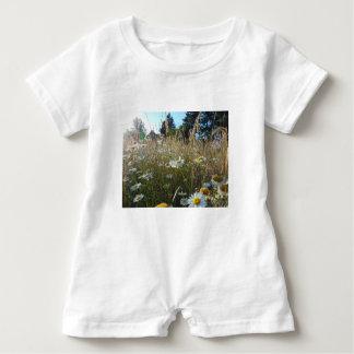 Field of Daisies Baby Romper