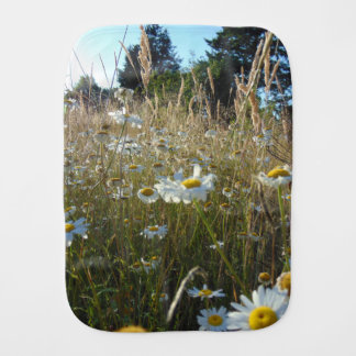 Field of Daisies Burp Cloth