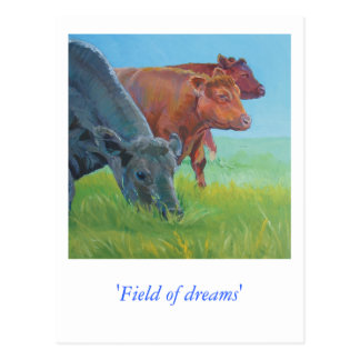 Field of dreams postcard