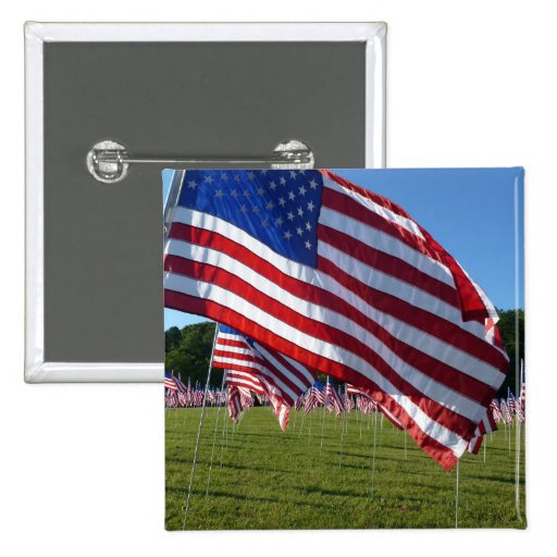 Field of Flags 2 button pin