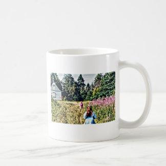 Field of flowers in Bic Coffee Mug