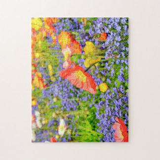 Field of Flowers Jigsaw Jigsaw Puzzle