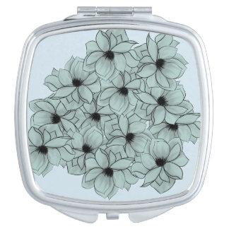 Field of Flowers Vanity Mirrors