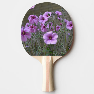 Field of Geraniums Ping-Pong Paddle