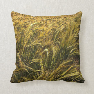 Field of Grain Throw Pillow