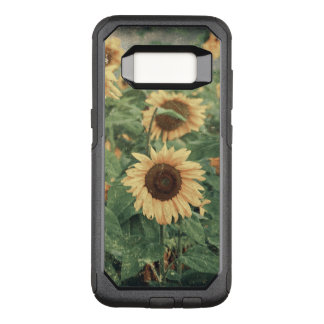 Field Of Grunge Yellow Pink Giant Sunflowers OtterBox Commuter Samsung Galaxy S8 Case