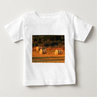 Field of hay baby T-Shirt