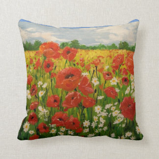 Field of Joy throw pillow