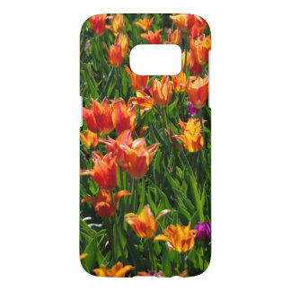 Field of Orange Samsung Galaxy S7 Case
