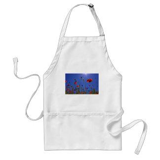 field-of-poppies standard apron