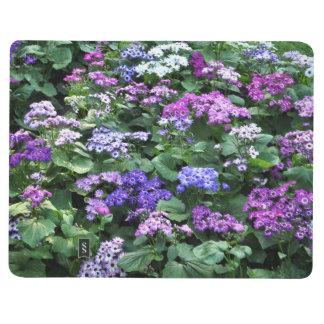 Field of Purple Flowers Notebook