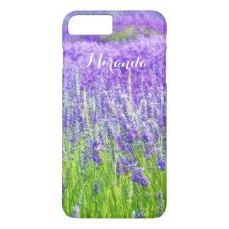 Field of Purple Lavender Flowers Personalized iPhone 8 Plus/7 Plus Case