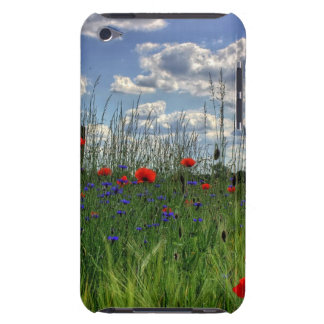 Field of Red Flowers Nature Photography Phone Case