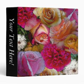 Field of Roses in Watercolor Binders
