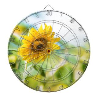 Field of Sunflowers Dartboard