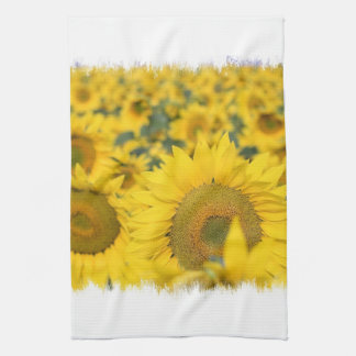 Field of Sunflowers Kitchen Towel