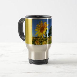 Field Of Sunflowers, Sunflower 1.3 Travel Mug