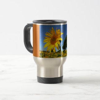 Field Of Sunflowers, Sunflower 1.4 Travel Mug