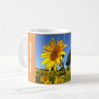 Field Of Sunflowers, Sunflower (P) Coffee Mug