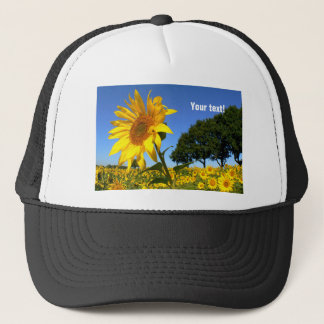 Field Of Sunflowers, Sunflower (P) Trucker Hat