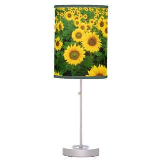 Field of Sunflowers Table Lamp
