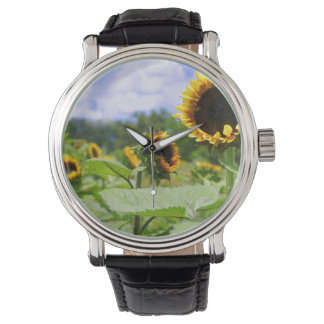 Field of Sunflowers Watches