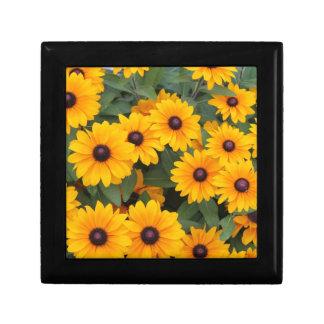 Field of yellow daisies gift box