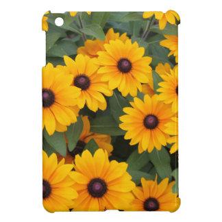 Field of yellow daisies iPad mini covers