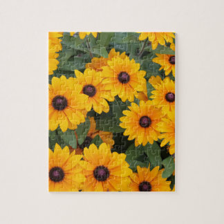 Field of yellow daisies jigsaw puzzle
