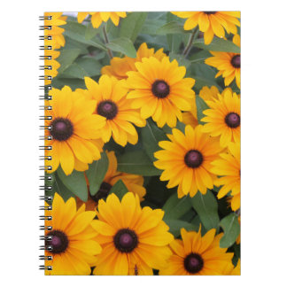 Field of yellow daisies notebook